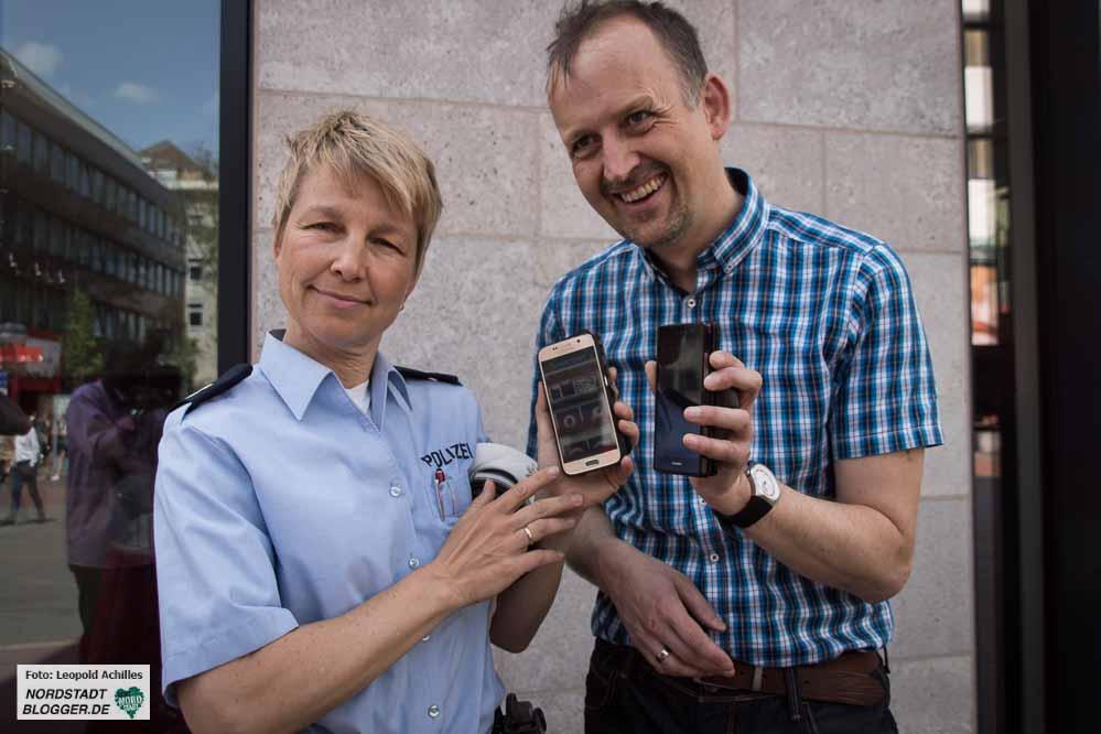 Die Smartphone-Nutzung von Kindern und Jugendlichen im Straßenverkehr hat zur Entwicklung der APP geführt.