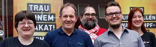 Piraten Dortmund wählen Vorstand – Dirk Pullem und Nadja Reigl als Vorsitzende im Amt bestätigt