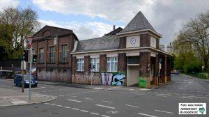 Die Zeche gehört zu den markantesten Gebäuden in Dorstfeld. Das Begegnungszentrum wird auf der Rückseite entstehen.
