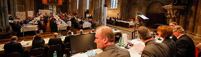 """Synode des ev. Kirchenkreises Dortmund ruft zur """"Allianz für Weltoffenheit, Solidarität, Demokratie und Rechtsstaat"""" auf"""