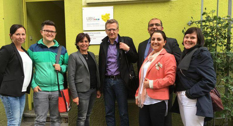 Auch ein Besuch von Unternehmen.Bilden.Vielfalt e.V. stand auf dem Programm von Dietmar Köster. Foto: SPD