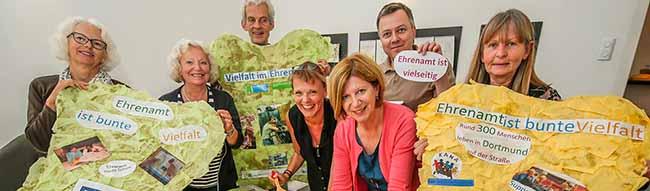 """""""Bunte Vielfalt im Ehrenamt"""": Freiwilligen-Agenturen aus dem Raum Dortmund bereiten einen gemeinsamen Aktionstag vor"""