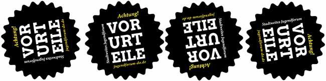 """Stadtweites Jugendforum zum Thema """"Achtung! Vorurteile"""""""