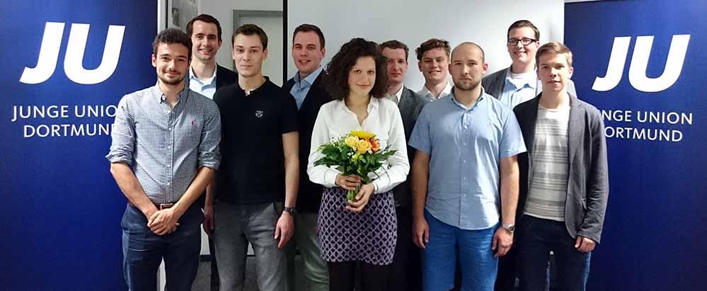 Die Junge Union Dortmund hat ihren Vorstand neu gewählt. Foto: Partei