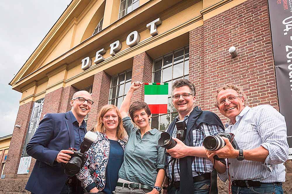 Die Jury freut sich auf zahlreiche Einreichungen (v.l. Roland Baege, Johanna Knott, Jenny Eimer, Sebastian Hanny, Dieter Menne), Fotograf: Roland Baege