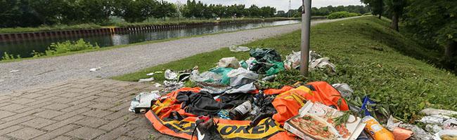 Ärgernis: Vermüllung einer der schönsten Seiten des Dortmunder Nordens – Tiefbauamt verspricht Abhilfe