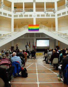Das Schwule Netzwerk NRW feierte sein 25-jähriges Bestehen im Dortmunder Rathaus.