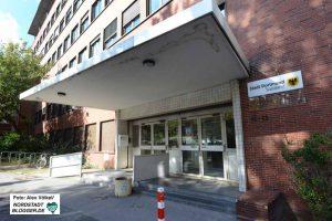 Das Gebäudes des Sozialamtes in der Luisenstraße ist sanierungsbedürftig.