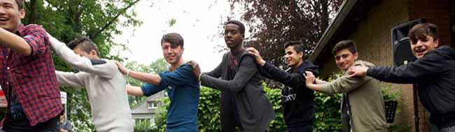 AWO-Haus Kreuzstraße: Das ehemalige BVB-Jugendhaus ist nun neues Zuhause für unbegleitete minderjährige Flüchtlinge