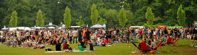 Impressionen: Wieder DJ-Picknick im Fredenbaumpark
