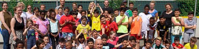 Fotostrecke: Netzwerk INFamilie hat Ferienspiele für Kinder des Brunnenstraßen- und Hannibalviertels ausgerichtet