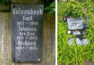 An den Gräbern von Hülsengeck und Wiersch wird die Abschlussveranstaltung stattfinden.