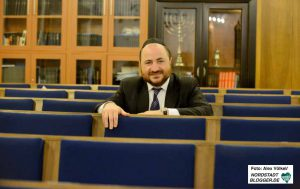Baruch Babaev ist der neue Rabbiner in Dortmund.