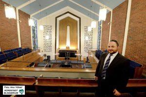 Baruch Babaev ist Rabbiner in Dortmund.