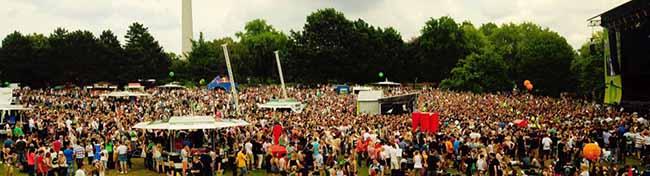 """""""Juicy Beats"""" in Dortmund beginnt 2019 früher als üblich: 200 Bands und DJs treten im Juli im Westfalenpark auf"""