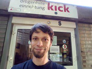 Jan Sosna ist Leiter der Drogenhilfeeinrichtung Kick.
