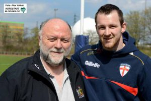 Bob Doughton (58) und sein Sohn Liam (25).