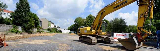 Spatenstich der AWO-Kitaim Evinger Parkweg: Die neue Kindertageseinrichtung eröffnet im Sommer 2017
