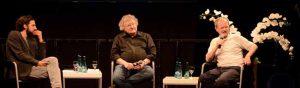 """""""Talk im DKH"""" mit Prof. Aladin El-Mafaalani, Prof. Werner Patzelt und Prof. Christoph Butterwegge."""