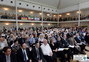 Mehrere hundert Gemeindemitglieder und Ehrengäste verabschiedeten Familie Apel.