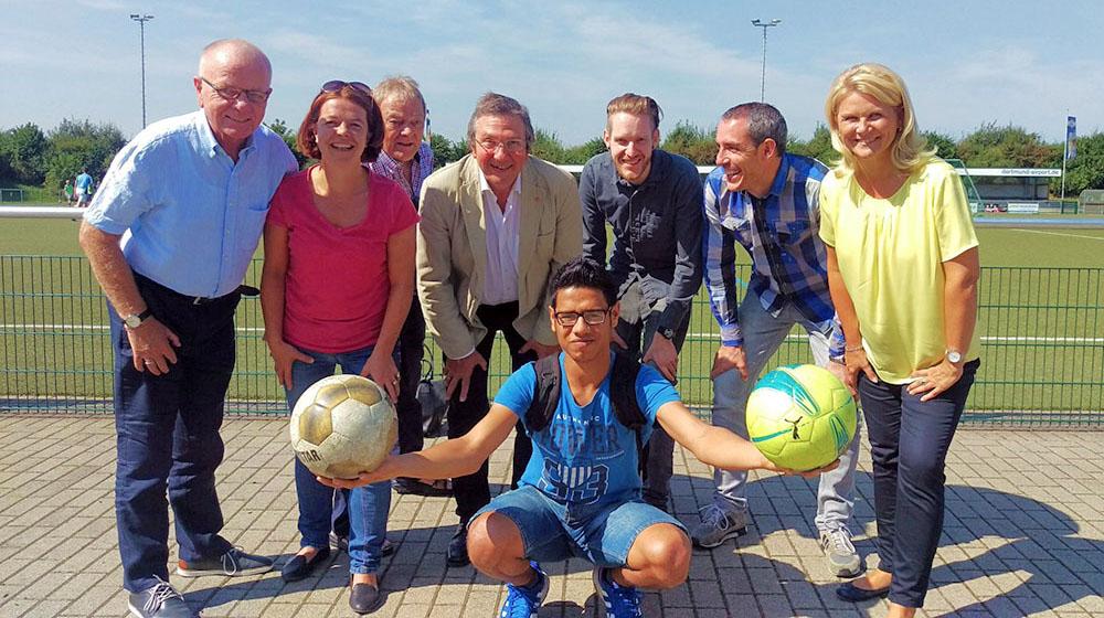 Im Pappelstadion in Wickede soll Kickoff Vielfalt stattfinden. Foto: Heike Mertins/ FH
