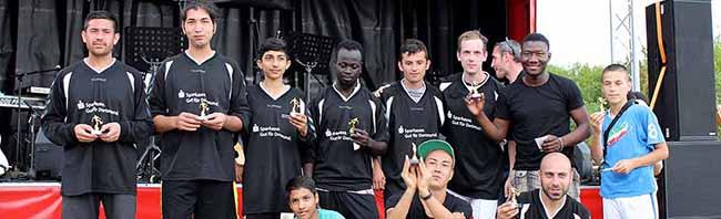 """""""Kick Off Vielfalt Cup"""" in Dortmund: Ein tolerantes, vielfältiges und buntes (Fußball-) Familien- undIntegrationsfest"""