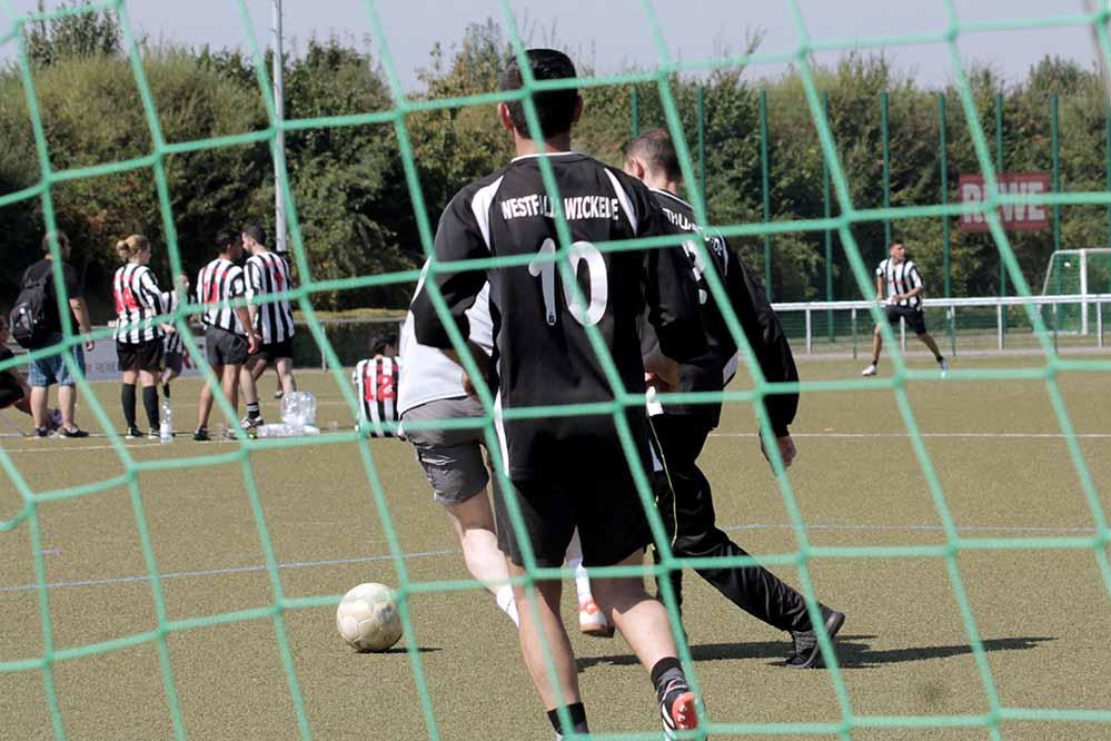 Vier Teams traten in drei Runden gegeneinander an. Foto: Jennifer Rakowski