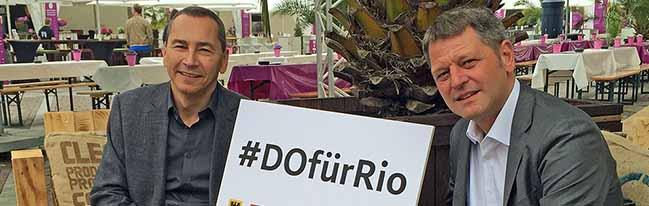 #DOfürRio: Erstmals gibt es ein olympisches Public Viewing an zwei Tagen an der Reinoldikirche in Dortmund