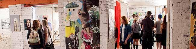 Düsseldorfer Künstler stellen im Dortmunder Hafen aus: Das Export 33 zeigt eine Werkschau aus der Kunstakademie