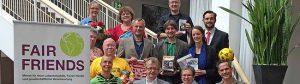"""Das Aktionsbündnis """"Fairer Handel"""" präsentierte das Programm für das 2. Halbjahr. Foto: Joachim vom Brocke"""