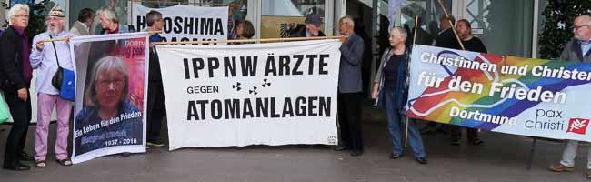 71. Jahrestag des Atombombenabwurfs: Mahngang und Gedenkveranstaltung am Hiroshimatag in Dortmund