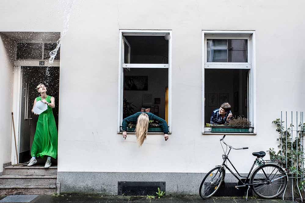 """In Dortmund, Essen und in Hamm findet das """"urban social art project LEERE_FÜLLE"""" statt. Foto: Volker Dinter/Veranstalter"""