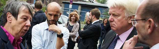 Bundesbauministerin Barbara Hendricks (SPD) besucht Dortmund: Die Nordstadt stand dabei besonders im Fokus