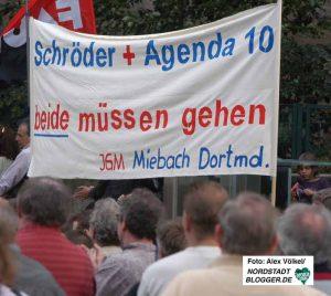 Zahlreiche Gruppen und Organisationen beteiligten sich vor 14 Jahren an den Montagsdemos. Archivbild: Alex Völkel