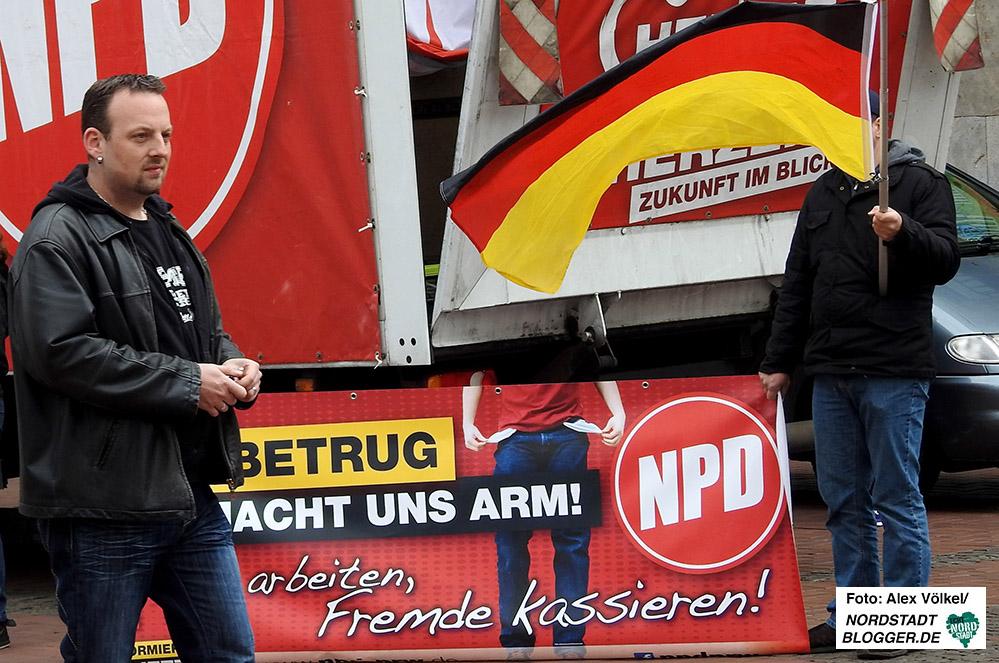 Der NPD-Landesvorsitzende Claus Cremer hat mit den Folgen eines Skandals zu kämpfen.