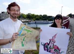 Erstmals wird es eine Straße der Vielfalt geben - außerdem nimmt eine Krake Besitz vom Hafenamt.
