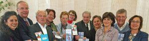 """Insgesamt 27 000 Euro aus der Stiftung """"Uhde"""", betreut vom Rotary-Club Hörde, gingen an sechs Organisationen. Foto: Joachim vom Brocke"""