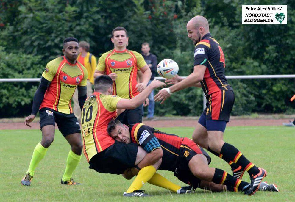 Eine deoppelte Premiere war das Rugby-Länderspiel Deutschland gegen Belgien in Dortmund.