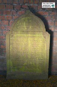 Teilweise sind die fast 200 Jahre alten Inschriften nur schwer zu entziffern.