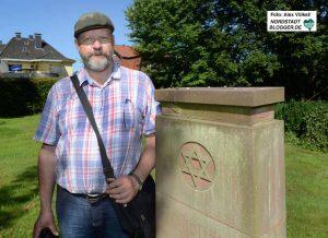 Heimatforscher Klaus Winter gab den Anstoß für die Inventarisierung der jüdischen Friedhöfe in Dortmund.