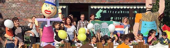 Mittelalterfest mit Kräuter-Hexe und Schwertkampf-Arena für Kinder und Teenies rund um das Big Tipi in der Nordstadt