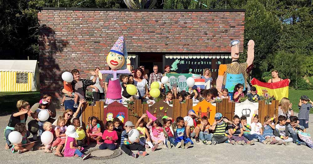 Ein Mittelalterfest gibt es wird am 23. September rund um Big Tipi. Foto: Joachim vom Brocke