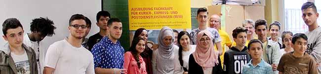 ARBEIT und Ausbildung (11): Teach First und Post unterstützen Flüchtlinge – Zukunftswerkstatt zum Thema Berufseinstieg
