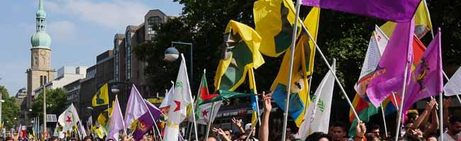 Große Kurden-Demonstration in der Dortmunder Innenstadt: Kritik an Erdogan und Freiheit für Kurdistan gefordert