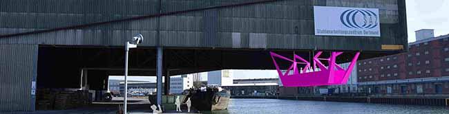 """""""well,come"""": Reise in die Welt der Ströme –  Kunstinstallation von """"Urbane Künste Ruhr"""" im Dortmunder Hafen"""
