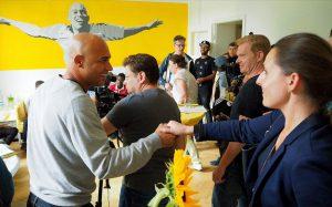 Das Abschiedsspiel von Dede bescherte der Stiftung 40.000 Euro. Fotos: Roland Klecker