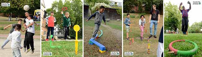 """FOTOSTRECKE Der Aktionstag """"Nordstadt spielt – Spiel mit!"""" lockte am Weltkindertag mit Aktivitäten an 24 Spielorten"""