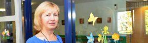 Kristina Kucinskas arbeitet als Alltagsbegleiterin für das Deutsche Rote Kreuz. Foto: Michael Schneider/Jobcenter