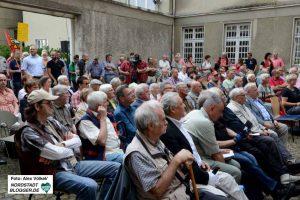 Gut besucht war das Antikriegstag-Gedenken in der Steinwache.