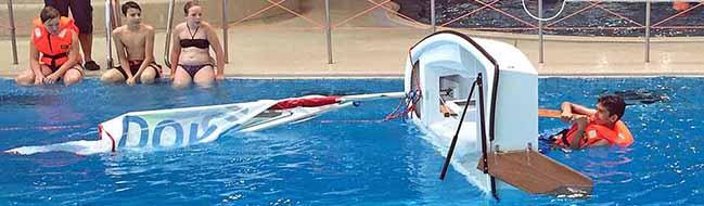 Segelkursus für HauptschülerInnen im Dortmunder Nordbad – Prüfung nach einer spannenden Woche auf Phoenix-See